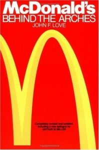 Mcdonalds behind the arches